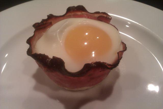 Egg Ham Cups