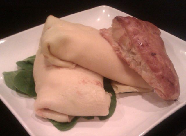 Ricotta Butternut Zuch Crepes and Apple Turnover