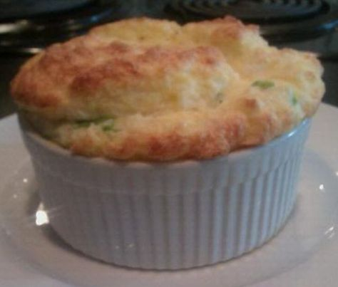 Stone Ground Grits Souffle