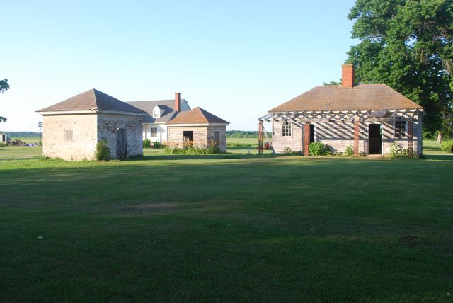 Outbuildings at Belle Grove Plantation