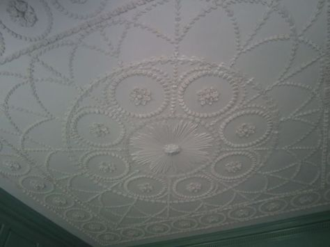 Betty Washington Lewis's Bedroom Ceiling