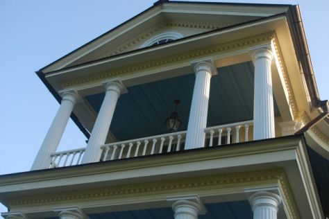 Belle Grove Carriage side Balcony
