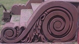 Riverside Portico Stairs Detail