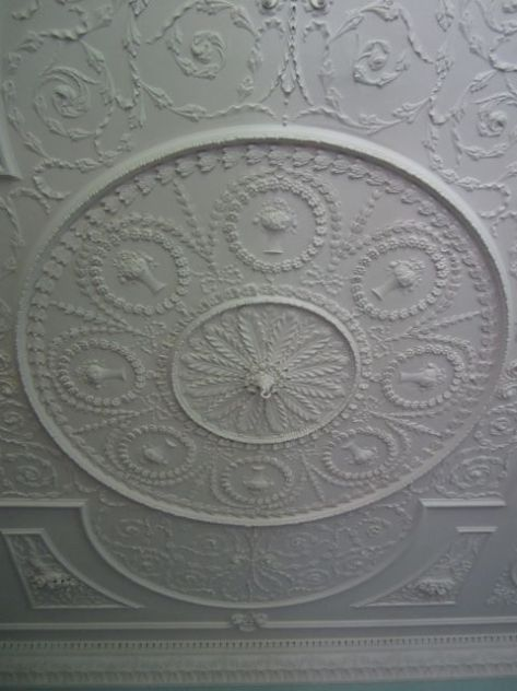 Formal Parlor Ceiling Detail