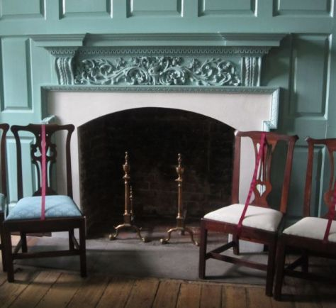 Formal Parlor Fireplace