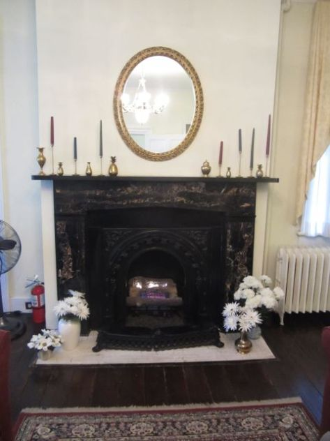 Marble FireplaceParlor