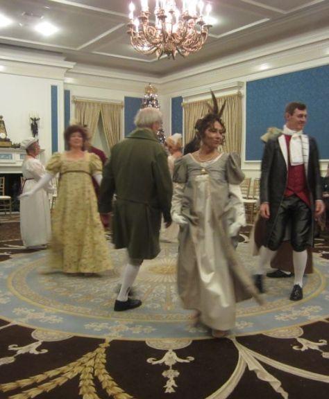 Colonial Dancers