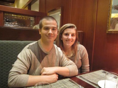 Tyler and Leah, his girlfriend