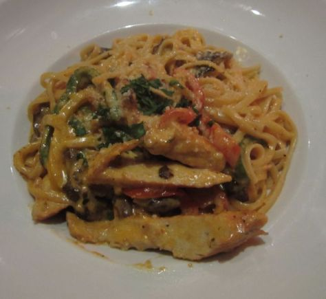 Chicken and Wild Mushroom Cajun Pasta