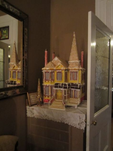Gingerbread House of Mansion on Main