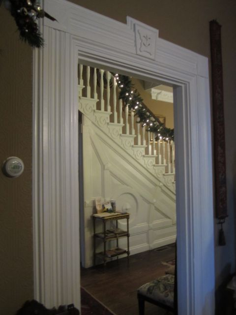 Doorway from Back Parlor to Main Hallway