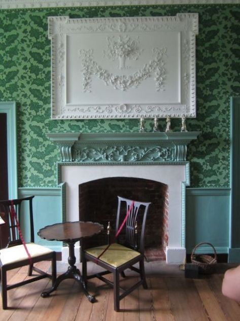 Ladies Parlor Fireplace