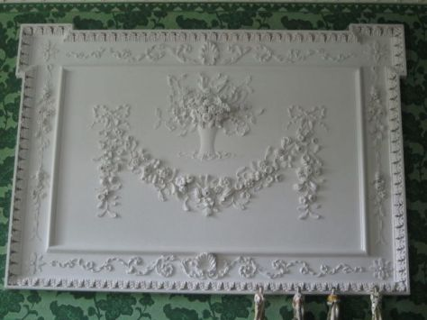 Ladies Parlor Fireplace Panel