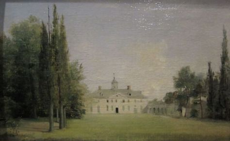 Oil Painting of Mount Vernon