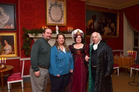 President and Mrs. Madison with Brett and Michelle Darnell