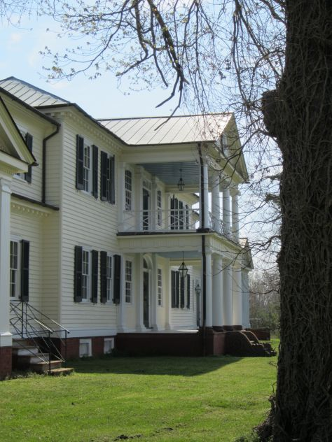 Belle Grove Riverside Portico and Balcony