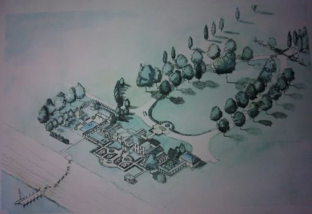 3D Drawing of grounds ideas dating back to 2003We are not going to follow all the ideas, but use it as a starting point.