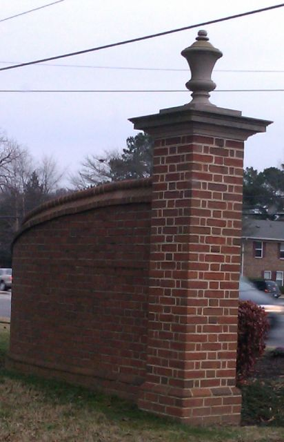 Idea for the new Front Gate Entry