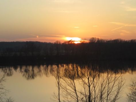 Sunset from the Riverside Bluff2012