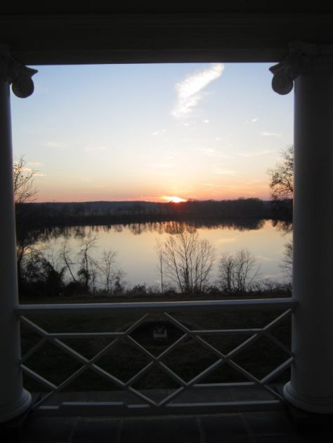Sunset from the Riverside Balcony2012
