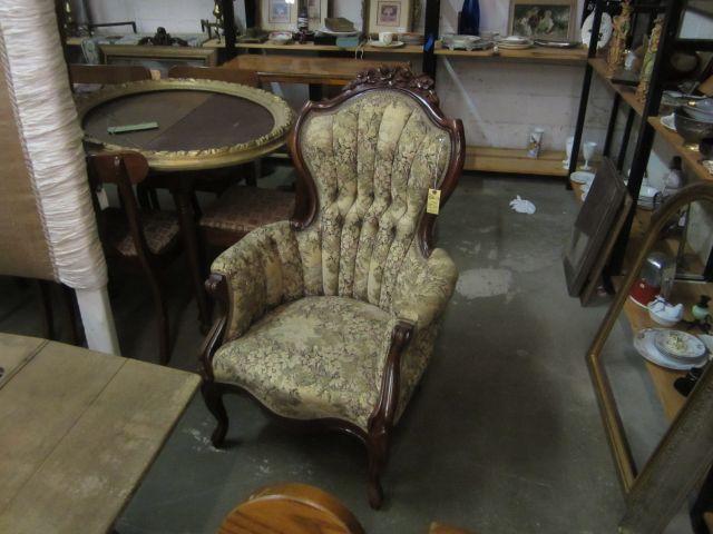 Rococo Chair - Victorian Period