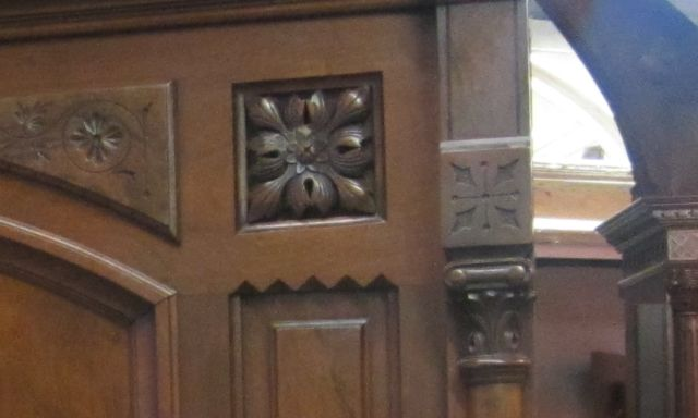 Dogwood Pattern in Head Board