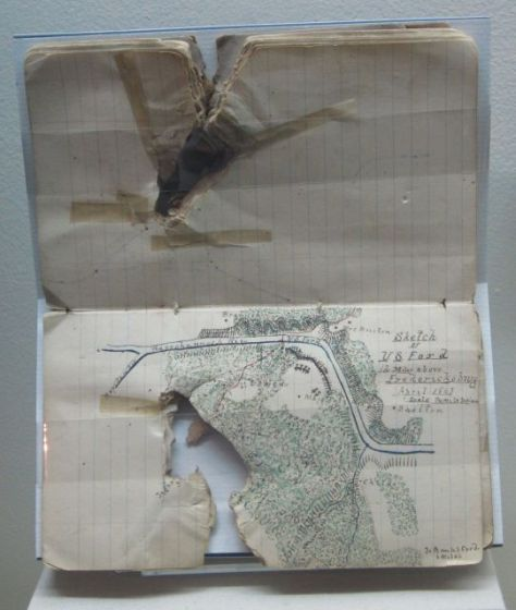 Field Notebook of Captain James Keith Boswell