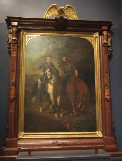 Robert E. Lee and Stonewall Jackson