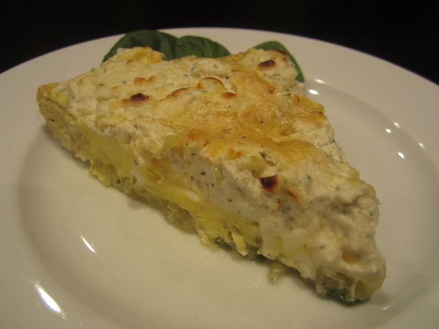 Potato and Boursin Frittata | Belle Grove Plantation Bed and Breakfast