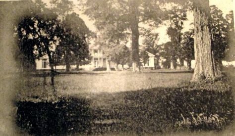 The Bowling Green looking toward Mansion1906