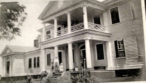 Belle Grove PlantationJ.F. Jack on the RIverside Portico