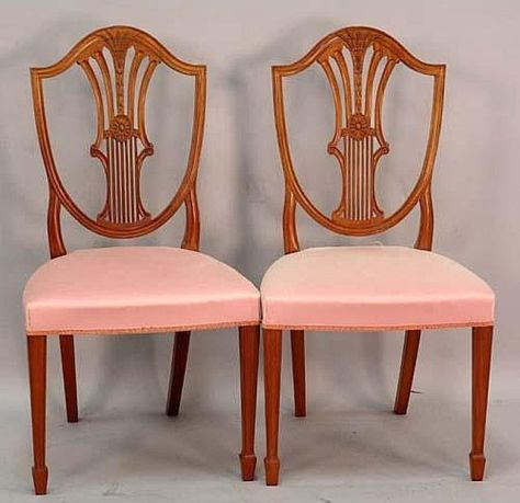 Wheat Back Shield Chairs