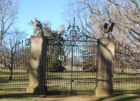 Westover PlantationFront Gate