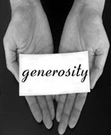 Generosity