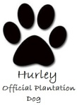 Hurley Paw Print Signature