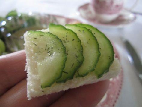 Cucumber Tea Sandwich