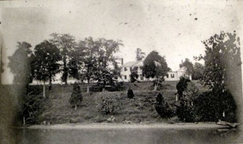 Belle Grove viewed from the river1906