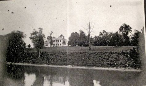 Belle Grove seen from the river1906