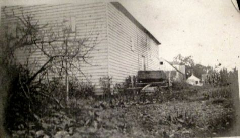 Granary near the old home site on the Walsingham Plantation1906