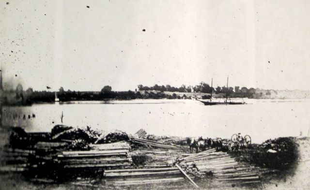 Walsingham Plantation on the Northerly Shore of the River. Lumber on the Port Royal Side1906