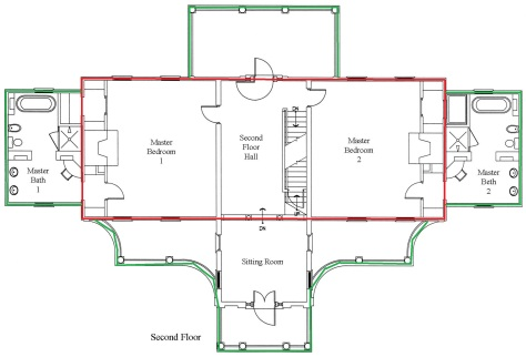 Second Floor Plan add