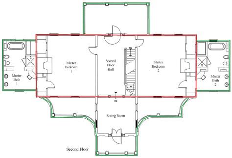 Second Floor Plan add