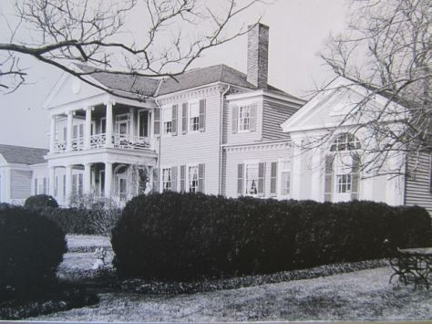 Belle Grove 1937 Riverview side
