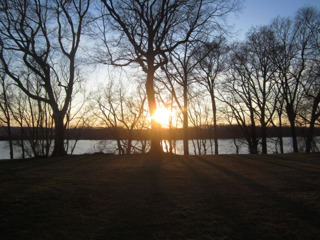 Sunset at Belle Grove