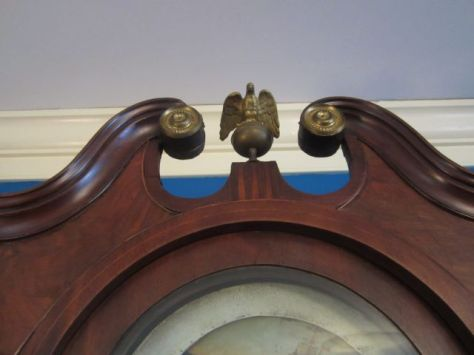 Grandfather Clock - Eagle on top