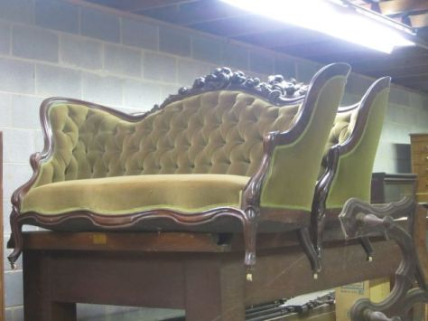 Rosewood Love Seats - they have been used in several movies. Not Lincoln