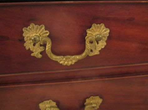 The English Plantation Desk Hardware