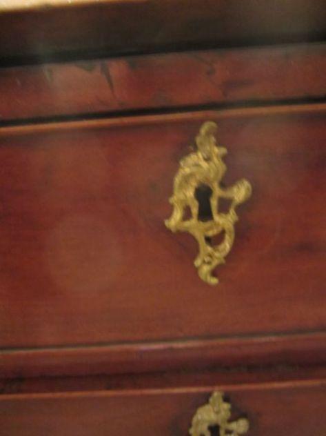 The English Plantation Desk Hardware