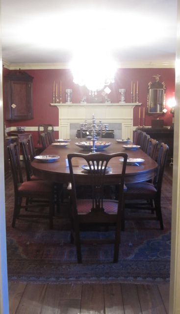 Could this be our Formal Dining Room Table? Sits 14