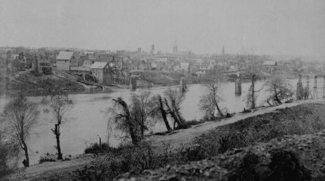 Fredericksburg after the Civil War